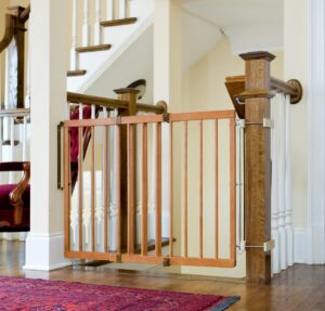 Best Pressure Mounted Baby Gates For Top Of Stairs