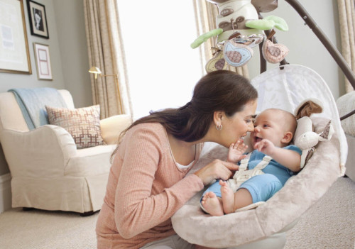 Best Baby Swing For Fussy Baby