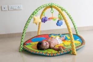 when to start using baby activity mat